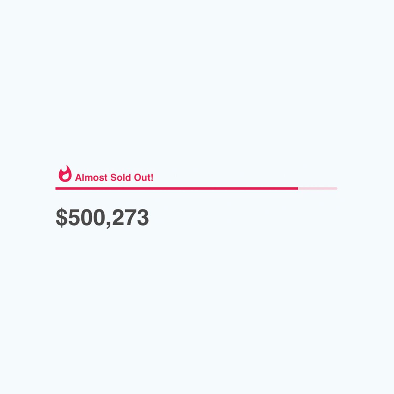 500K Raised